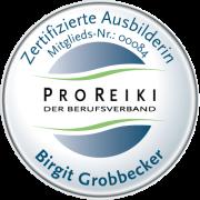 Pro Reiki Berufsverband Zertifizierte Anwenderin
