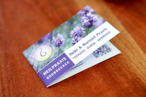Visitenkarte Heilpraxis Grobbecker