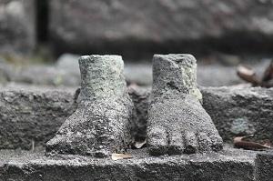 Fuß Geschichte